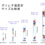 武田久美子さんブログで紹介『水の中で動く温度計>>ガリレオ温度計』