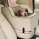 森泉さん『見つけたー!』車用ペットシート【運転席と助手席の間に設置可能タイプ】ベット/犬猫ちゃんのカーベッドに!