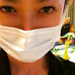 山田優ちゃん花粉症?お花見はどーする?