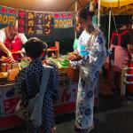 夏祭り!滝沢眞規子さん着用>>浴衣の柄はコレ>>