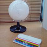 田丸麻紀さんちの白地図『地球儀』色塗り出来るのはコチラ>>