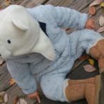 田丸麻紀さん息子くんの白クマ帽子が超かわいいっ>>