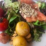 海老蔵さん朝食メニューのこだわり>>健康は食事で!