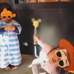 優木まおみサン娘ちゃんたちのサングラス>>ニモ&ウッディのメガネが可愛いっ!