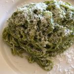 ともさかりえサンが作るオススメレシピ>>ジェノベーゼパスタ