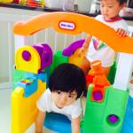ゴージャス☆三喜本惠美さんの子育てグッズ>>真っ白ベビーサークルはコチラ>>