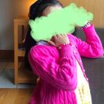 海老蔵さんちの麗禾ちゃん着用ピンク色カーディガンはコレ>>[ラルフローレン Ralph Lauren キッズ ピンク フリル カーディガン]