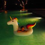 田丸麻紀さん『ユニコーン』特大浮き輪で夜プール満喫♪子どもも喜ぶフロート集めてみました>>