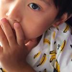 海老蔵さんちの勸玄くん愛用バナナTシャツはコレ>>