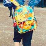 紗栄子さんちの息子さん愛用ポケモンのバックパック
