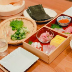 辺見えみりサン愛用『重箱』手巻き寿司がオシャレ♪