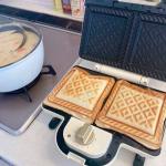 辻チャンちオシャレ朝食はホットサンドメーカーで!芸能人さんちのホットサンドメーカー